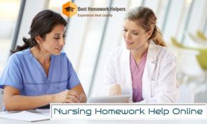 Nursing Homework Help Online