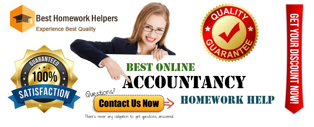 Accountancy Homework Help
